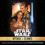 Download or print John Williams Across The Stars (from Star Wars: Attack of the Clones) (arr. Phillip Keveren) Sheet Music Printable PDF 2-page score for Classical / arranged Big Note Piano SKU: 403156.