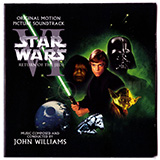 Download or print John Williams Luke And Leia (from Star Wars: Return of the Jedi) Sheet Music Printable PDF 4-page score for Classical / arranged Big Note Piano SKU: 93769.