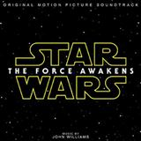 Download or print John Williams Main Title And The Attack On The Jakku Village Sheet Music Printable PDF 5-page score for Classical / arranged Piano Solo SKU: 163144.