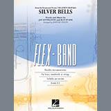 Download Johnnie Vinson 'Silver Bells - Pt.5 - Eb Baritone Saxophone' Printable PDF 1-page score for Christmas / arranged Concert Band SKU: 308042.