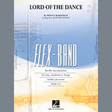 Download Johnnie Vinson 'The Lord Of The Dance - Pt.2 - Bb Clarinet/Bb Trumpet' Printable PDF 1-page score for Celtic / arranged Concert Band SKU: 292256.