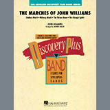 Download Johnnie Vinson 'The Marches of John Williams - Eb Baritone Saxophone' Printable PDF 2-page score for Film/TV / arranged Concert Band SKU: 288523.