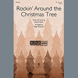 Download or print Johnny Marks Rockin' Around The Christmas Tree (arr. Roger Emerson) Sheet Music Printable PDF 7-page score for Christmas / arranged TB Choir SKU: 479019.