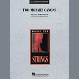 Download Jon Ward Bauman 'Two Mozart Canons - Full Score' Printable PDF 12-page score for Classical / arranged Orchestra SKU: 272423.