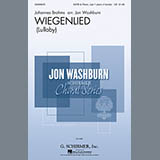 Download or print Johannes Brahms Wiegenlied (arr. Jon Washburn) Sheet Music Printable PDF 3-page score for Classical / arranged SATB Choir SKU: 155007.
