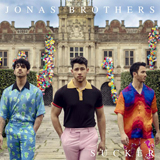 Download or print Jonas Brothers Sucker Sheet Music Printable PDF 4-page score for Love / arranged Big Note Piano SKU: 429609.