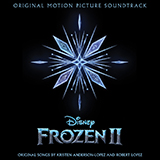 Download or print Jonathan Groff Lost In The Woods (from Disney's Frozen 2) Sheet Music Printable PDF 5-page score for Disney / arranged Big Note Piano SKU: 433043.