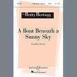 Download or print Jonathan Jenson A Boat Beneath A Sunny Sky Sheet Music Printable PDF 5-page score for Concert / arranged Unison Choir SKU: 83008.