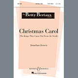 Download Jonathan Jensen 'Christmas Carol (The Kings They Came Out From The South)' Printable PDF 6-page score for Christmas / arranged 2-Part Choir SKU: 90498.