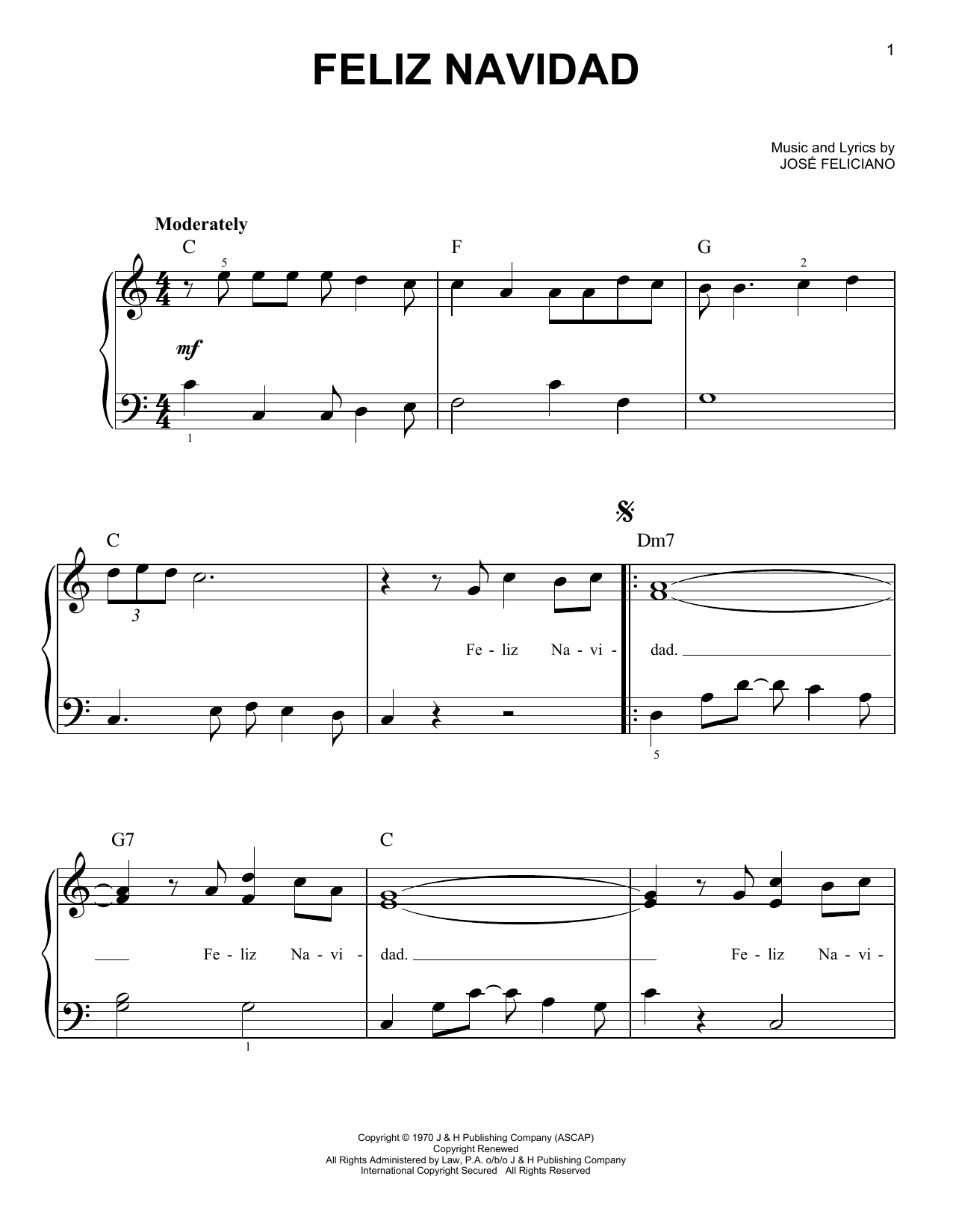 jose feliciano feliz navidad sheet music pdf notes chords christmas score guitar ensemble download printable sku 199868 jose feliciano feliz navidad sheet music notes chords download printable guitar ensemble sku 199868