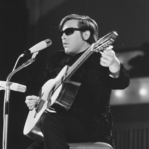 Easily Download Jose Feliciano Printable PDF piano music notes, guitar tabs for ChordBuddy. Transpose or transcribe this score in no time - Learn how to play song progression.