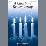 Download or print Brad Nix A Christmas Remembering Sheet Music Printable PDF 14-page score for Sacred / arranged SATB Choir SKU: 184300.