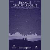 Download Joseph M. Martin 'Rejoice! Christ Is Born! - Accordion' Printable PDF 2-page score for Christmas / arranged Choir Instrumental Pak SKU: 416147.
