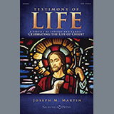 Download Joseph M. Martin 'Testimony of Life - Score' Printable PDF 163-page score for Advent / arranged Choir Instrumental Pak SKU: 322002.