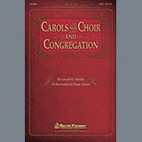 Download Joseph M. Martin 'A Christmas Trilogy (from Carols For Choir And Congregation)' Printable PDF 4-page score for Concert / arranged SATB Choir SKU: 98569.