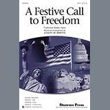 Download Joseph Martin 'A Festive Call to Freedom - Cello' Printable PDF 2-page score for Patriotic / arranged Choir Instrumental Pak SKU: 319735.