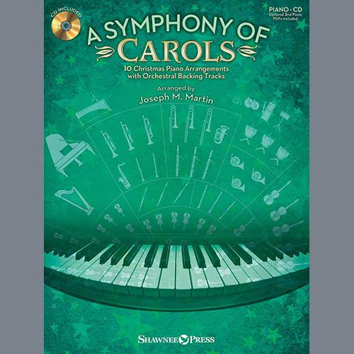 Joseph Martin, Angels We Have Heard On High (from A Symphony Of Carols) - Viola, Choir Instrumental Pak