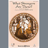 Download or print Joseph Martin What Strangers Are These? (from Winter's Grace) - Percussion 1 & 2 Sheet Music Printable PDF 1-page score for Christmas / arranged Choir Instrumental Pak SKU: 341177.