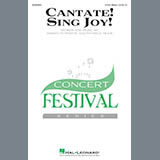 Download Joseph Martin & Patricia Mock 'Cantate! Sing Joy!' Printable PDF 9-page score for Concert / arranged 3-Part Mixed Choir SKU: 413238.