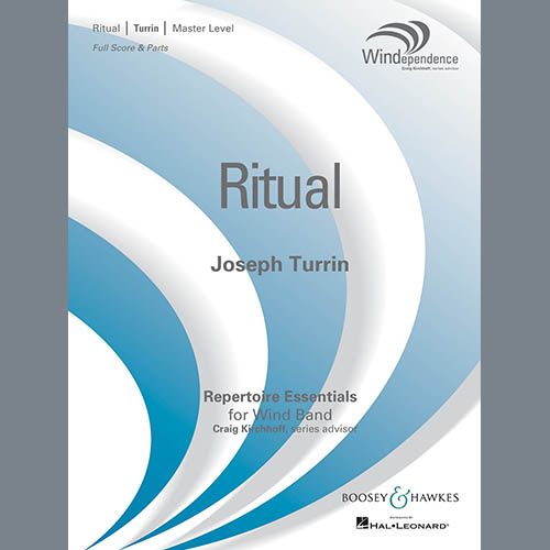 Easily Download Joseph Turrin Printable PDF piano music notes, guitar tabs for Concert Band. Transpose or transcribe this score in no time - Learn how to play song progression.