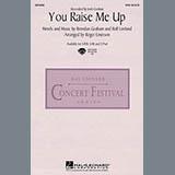 Download or print Josh Groban You Raise Me Up (arr. Roger Emerson) Sheet Music Printable PDF 5-page score for Inspirational / arranged 2-Part Choir SKU: 26910.