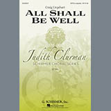 Download or print Judith Clurman All Shall Be Well Sheet Music Printable PDF 2-page score for A Cappella / arranged SATB Choir SKU: 293671.