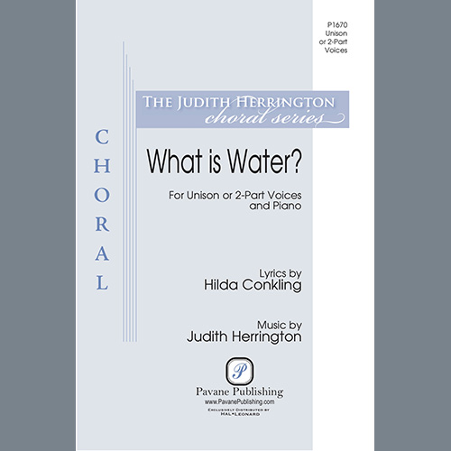 Easily Download Judith Herrington Printable PDF piano music notes, guitar tabs for Unison Choir. Transpose or transcribe this score in no time - Learn how to play song progression.