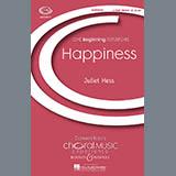 Download Juliet Hess 'Happiness' Printable PDF 6-page score for Concert / arranged 2-Part Choir SKU: 71300.