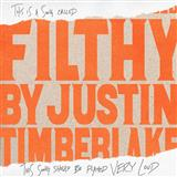 Download Justin Timberlake 'Filthy' Printable PDF 7-page score for Pop / arranged Piano, Vocal & Guitar (Right-Hand Melody) SKU: 199217.