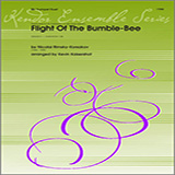Download or print Kaisershot Flight Of The Bumble-Bee Sheet Music Printable PDF 4-page score for Classical / arranged Brass Ensemble SKU: 124755.