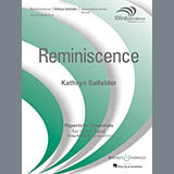 Download Kathryn Salfelder 'Reminiscence - Bb Bass Clarinet' Printable PDF 1-page score for Concert / arranged Concert Band SKU: 415135.