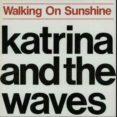 Katrina and the Waves, Walking On Sunshine, Piano, Vocal & Guitar (Right-Hand Melody)