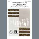 Download or print Kay Starr (Everybody's Waitin' For) The Man With The Bag (arr. Deke Sharon) Sheet Music Printable PDF 6-page score for A Cappella / arranged TTBB Choir SKU: 71236.