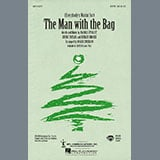 Download or print Kaye Starr (Everybody's Waitin' For) The Man With The Bag (arr. Roger Emerson) Sheet Music Printable PDF 7-page score for Christmas / arranged SAB Choir SKU: 469656.