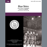 Download or print Keepsake Blue Skies (from Betsy) (arr. Clay Hine) Sheet Music Printable PDF 6-page score for A Cappella / arranged TTBB Choir SKU: 476497.