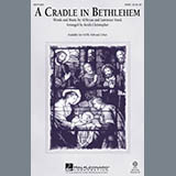 Download or print Keith Christopher A Cradle In Bethlehem Sheet Music Printable PDF 11-page score for Christmas / arranged 2-Part Choir SKU: 289713.