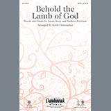Download or print Keith Christopher Behold the Lamb of God - Keyboard String Reduction Sheet Music Printable PDF 4-page score for Romantic / arranged Choir Instrumental Pak SKU: 321456.