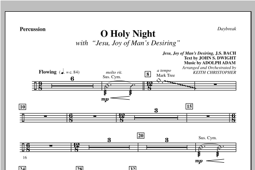 Keith Christopher O Holy Night (with