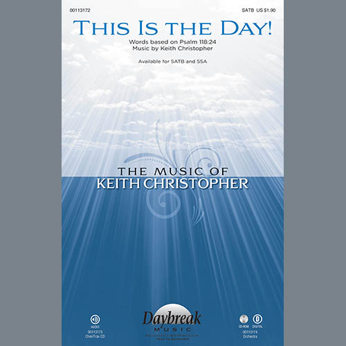 Keith Christopher, This Is the Day! - Keyboard String Reduction, Choir Instrumental Pak