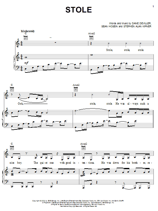Kelly Rowland Stole sheet music notes and chords. Download Printable PDF.