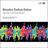 Download Kempton 'Kendor Debut Solos - Flute' Printable PDF 16-page score for Instructional / arranged Woodwind Solo SKU: 124983.