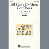 Download Traditional Spiritual 'All God's Children Got Shoes (arr. Ken Berg)' Printable PDF 9-page score for Children / arranged 2-Part Choir SKU: 51338.