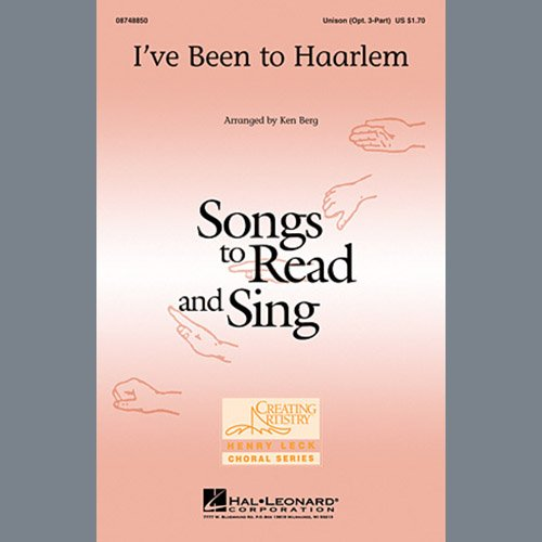 Easily Download Ken Berg Printable PDF piano music notes, guitar tabs for Unison Choir. Transpose or transcribe this score in no time - Learn how to play song progression.