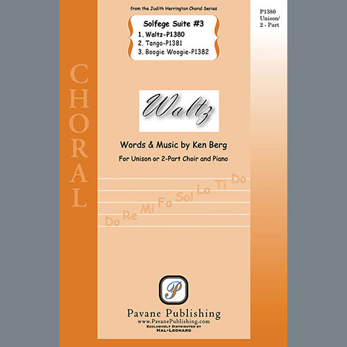 Easily Download Ken Berg Printable PDF piano music notes, guitar tabs for 2-Part Choir. Transpose or transcribe this score in no time - Learn how to play song progression.