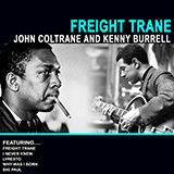 Download Kenny Burrell & John Coltrane 'Freight Trane' Printable PDF 8-page score for Jazz / arranged Electric Guitar Transcription SKU: 419181.