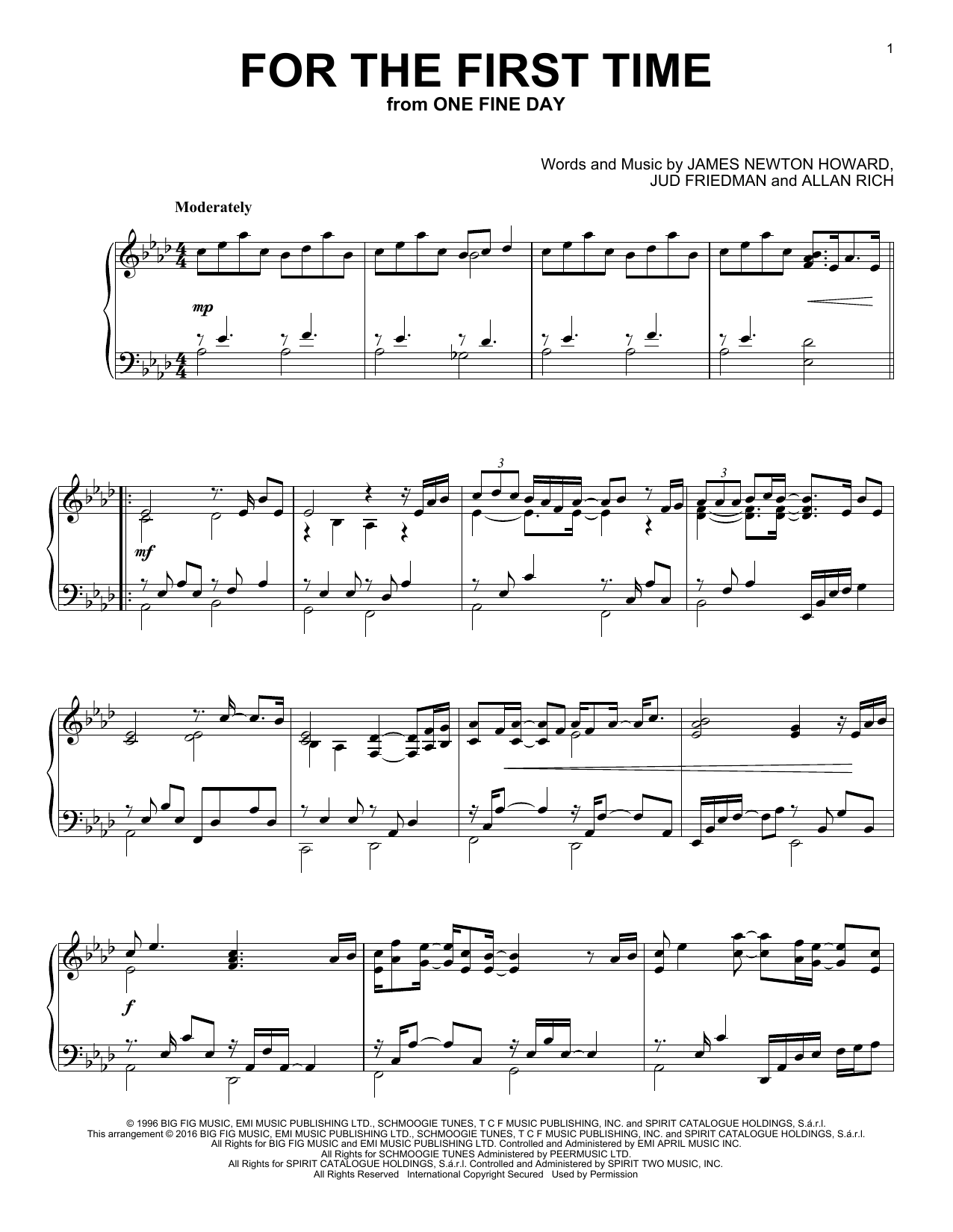 Kenny Loggins For The First Time sheet music notes and chords. Download Printable PDF.