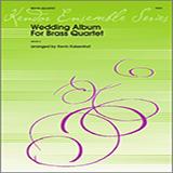 Download Kevin Kaisershot 'Wedding Album For Brass Quartet - 1st Trombone' Printable PDF 4-page score for Wedding / arranged Brass Ensemble SKU: 343093.