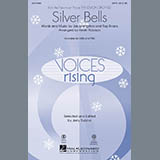 Download Kevin Robison 'Silver Bells - Percussion' Printable PDF 2-page score for Christmas / arranged Choir Instrumental Pak SKU: 283109.