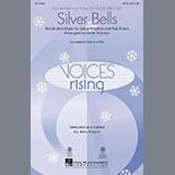 Download Kevin Robison 'Silver Bells - Violin 1' Printable PDF 3-page score for Christmas / arranged Choir Instrumental Pak SKU: 283113.