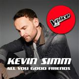 Download Kevin Simm 'All You Good Friends' Printable PDF 6-page score for Pop / arranged Piano, Vocal & Guitar SKU: 123304.